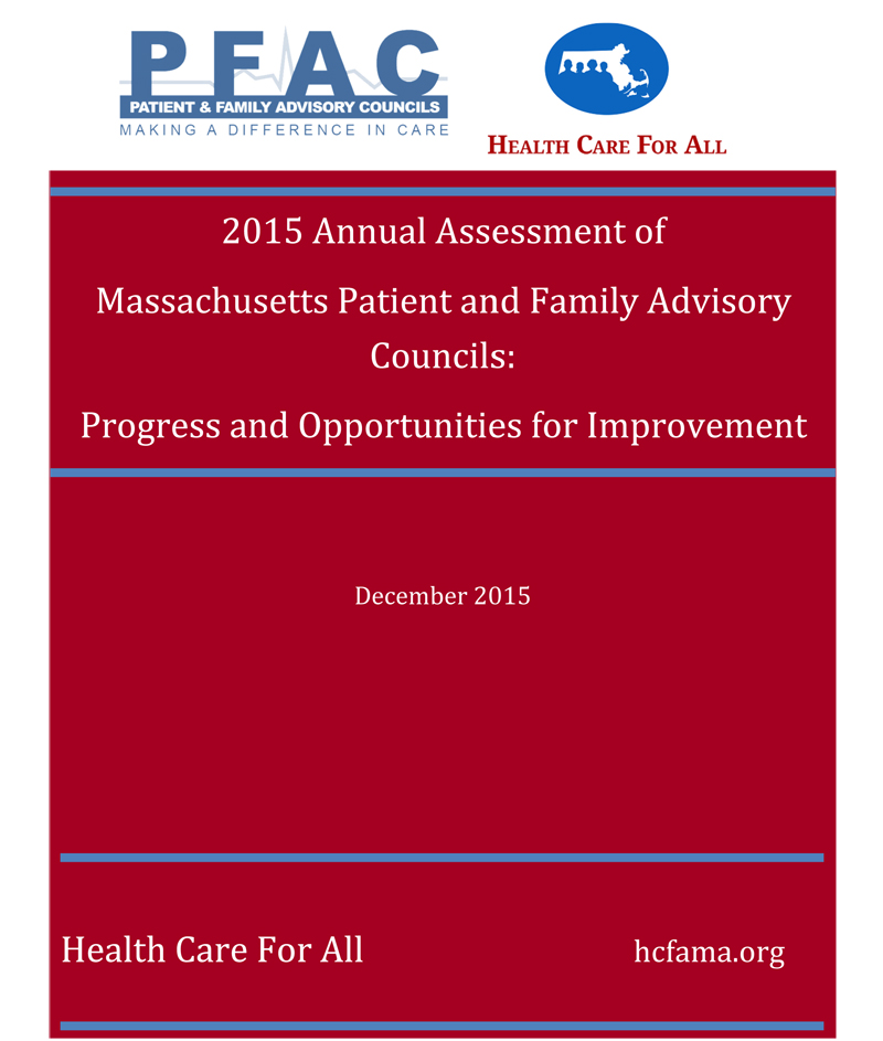 Health Care for All Annual Report cover