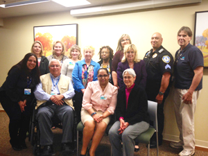 Group photo of the Patient and Family Advisory Council.
