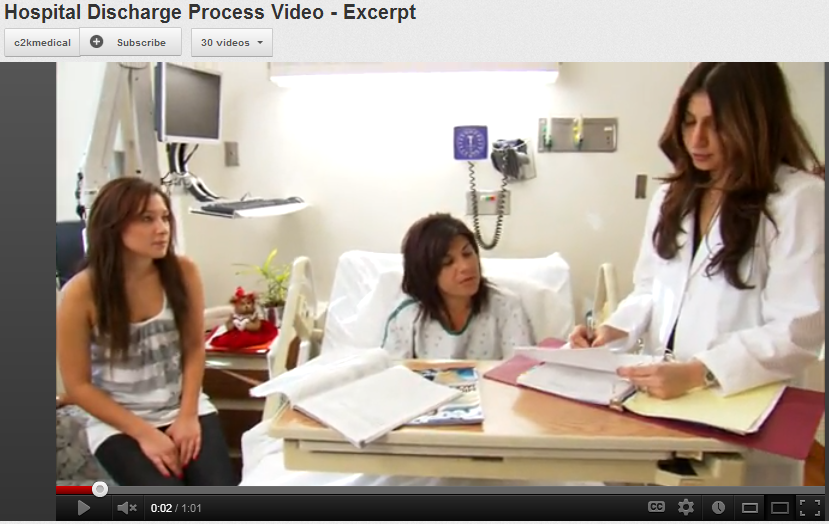 Hospital Discharge Process Video - Excerpt