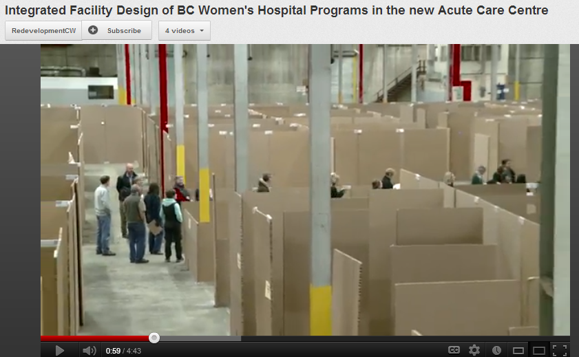Integrated Facility Design of BC Womens Hospital Programs in the new Acute Care Centre
